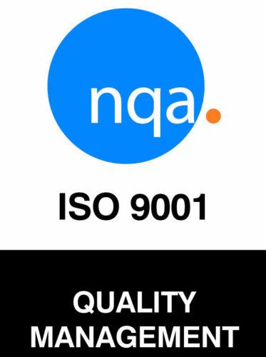 NQA_ISO9001_CMYK -Color logo